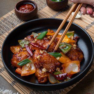 Chilli garlic fish 2