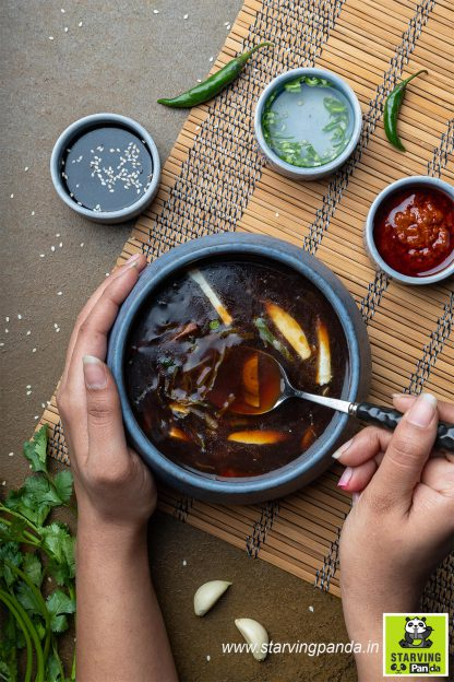 Veg Manchow Soup 2