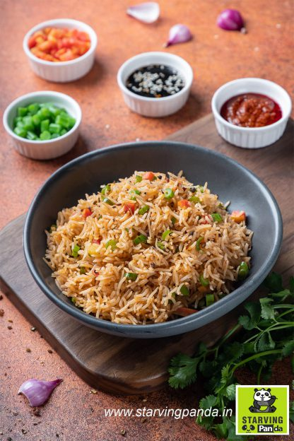 Veg Schezwan Rice