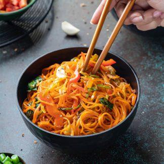 Veg singapuri Noodles 2